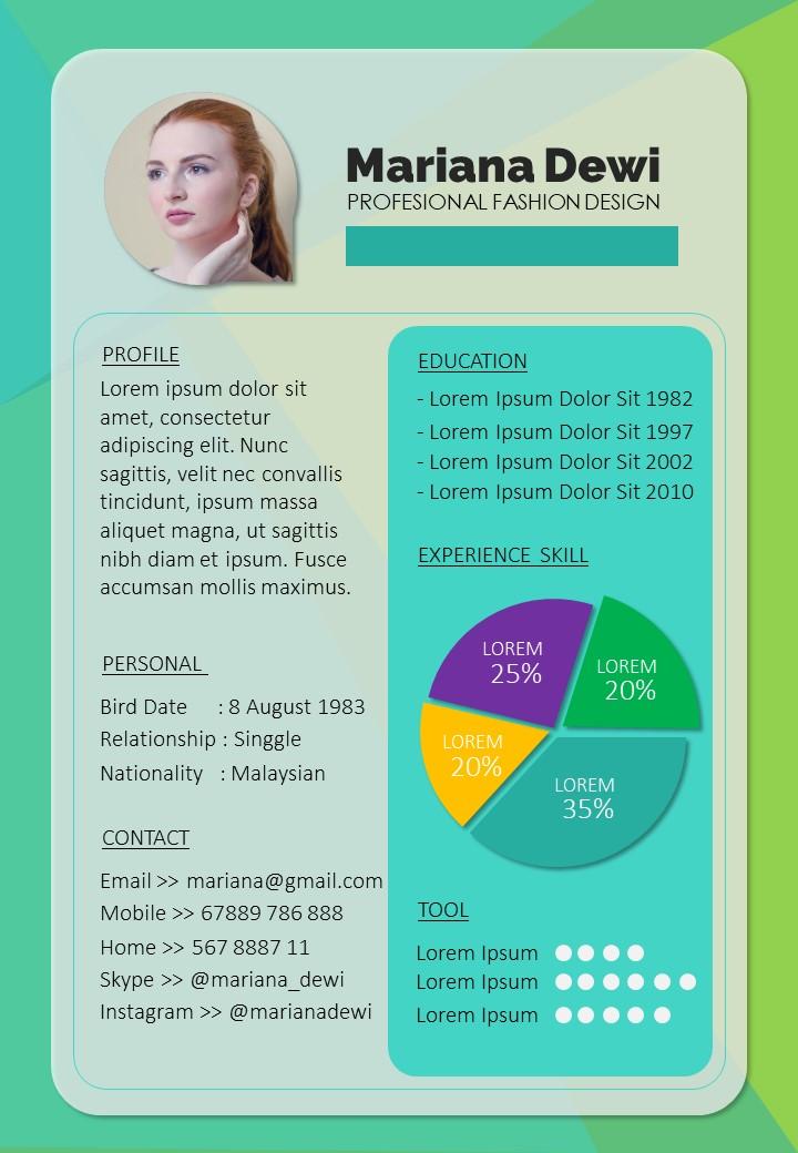 01-CV Resume